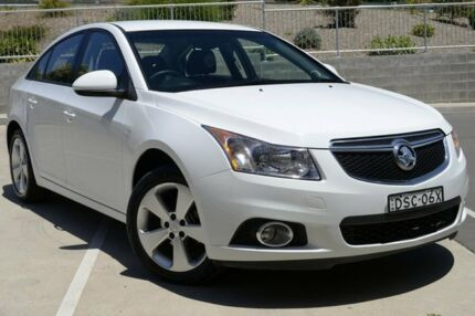 2014 Holden Cruze JH MY14 Equipe White 6 Speed Automatic Sedan Lisarow Gosford Area Preview