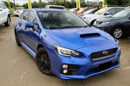 2016 Subaru WRX V1 MY16 Special Edition Lineartronic AWD Blue 8 Speed Constant Variable Sedan