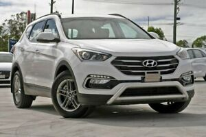 2016 Hyundai Santa Fe DM3 MY16 Active White 6 Speed Sports Automatic Wagon Hillcrest Logan Area Preview