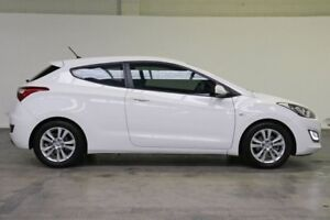 2013 Hyundai i30 GD SE Coupe Creamy White 6 Speed Sports Automatic Hatchback Southbank Melbourne City Preview
