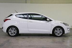 2013 Hyundai i30 GD SE Coupe Creamy White 6 Speed Sports Automatic Hatchback