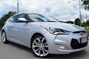 2012 Hyundai Veloster FS Coupe D-CT Silver 6 Speed Sports Automatic Dual Clutch Hatchback Noosaville Noosa Area Preview
