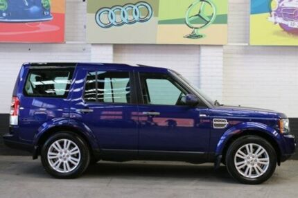 2009 Land Rover Discovery 4 Series 4 10MY TdV6 CommandShift HSE Blue 6 Speed Auto Seq Sportshift Wag Southbank Melbourne City Preview