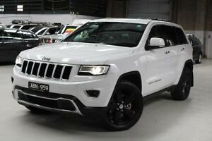 2014 Jeep Grand Cherokee Limited White Sports Automatic Wagon Knoxfield Knox Area Preview