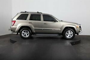 2007 Jeep Grand Cherokee WH Limited (4x4) Gold 5 Speed Automatic Wagon
