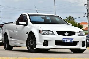 2011 Holden Ute VE II MY12 SS V Redline White 6 Speed Manual Utility Victoria Park Victoria Park Area Preview