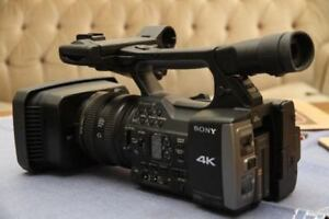 SONY FDR AX1 CAMERA LOW HOURS 4K 60 MINT CONDITION