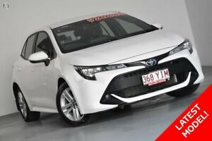 2018 Toyota Corolla Mzea12R Ascent Sport White 10 Speed Constant Variable Hatchback Indooroopilly Brisbane South West Preview