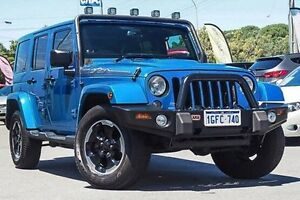 2014 Jeep Wrangler JK MY2014 Unlimited Polar Blue 5 Speed Automatic Hardtop Myaree Melville Area Preview