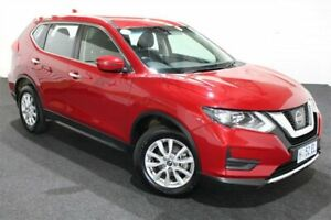 2017 Nissan X-Trail T32 ST X-tronic 4WD Red 7 Speed Constant Variable Wagon Glenorchy Glenorchy Area Preview