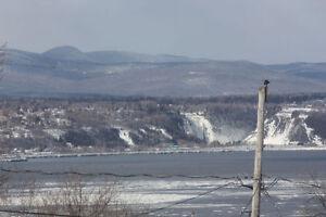 Vue panoramique sur le fleuve-5 chs–10 pièces-Grande verrière