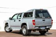 2009 Holden Colorado RC MY09 LX Crew Cab Silver 5 Speed Manual Utility Maddington Gosnells Area Preview