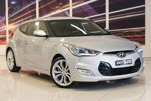 2012 Hyundai Veloster FS Coupe Silver 6 Speed Manual Hatchback Blacktown Blacktown Area Preview