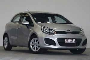 2012 Kia Rio UB S Silver 6 Speed Manual Hatchback Coopers Plains Brisbane South West Preview