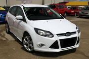 2012 Ford Focus LW MKII Sport PwrShift White 6 Speed Sports Automatic Dual Clutch Hatchback Buderim Maroochydore Area Preview