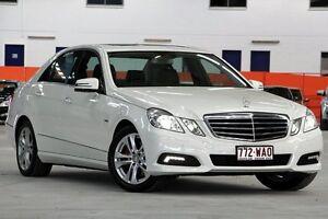 2009 Mercedes-Benz E250 212 CGI Avantgarde White 5 Speed Automatic Sedan Coopers Plains Brisbane South West Preview