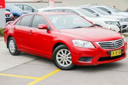 2010 Toyota Aurion GSV40R MY10 AT-X Red 6 Speed Sports Automatic Sedan Pennant Hills Hornsby Area Preview