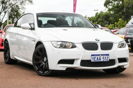 2008 BMW M3 E93 M-DCT White 7 Speed Sports Automatic Dual Clutch Convertible Wilson Canning Area Preview