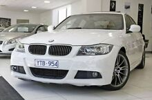 2011 BMW 323I E90 MY11 Lifestyle White 6 Speed Sports Automatic Sedan West Melbourne Melbourne City Preview