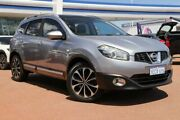 2012 Nissan Dualis J10 Series II MY2010 +2 X-tronic AWD Ti Silver 6 Speed Constant Variable Osborne Park Stirling Area Preview