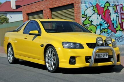 2011 Holden Ute VE II MY12 SS Yellow 6 Speed Manual Utility Glenelg East Holdfast Bay Preview