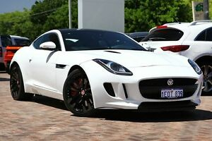 2014 Jaguar F-Type X152 MY15 White 8 Speed Sports Automatic Coupe Osborne Park Stirling Area Preview