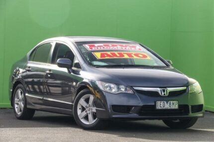 2009 Honda Civic 8th Gen MY09 VTi-L Grey 5 Speed Automatic Sedan Ringwood East Maroondah Area Preview