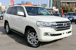2016 Toyota Landcruiser VDJ200R VX Crystal Pearl 6 Speed Sports Automatic Wagon Northbridge Perth City Area Preview