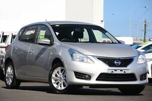 2015 Nissan Pulsar C12 Series 2 ST Silver 1 Speed Continuous Variable Hatchback Glendalough Stirling Area Preview