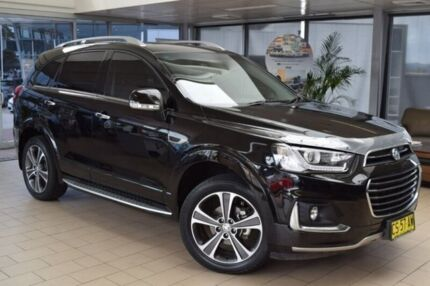 2017 Holden Captiva CG MY17 LTZ AWD Black 6 Speed Sports Automatic Wagon Belconnen Belconnen Area Preview