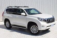 2014 Toyota Landcruiser Prado KDJ150R MY14 Kakadu White 5 Speed Sports Automatic Wagon Embleton Bayswater Area Preview