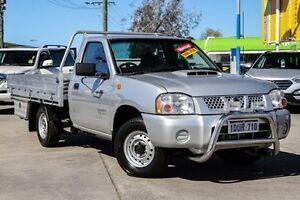2009 Nissan Navara D22 MY2008 DX Silver 5 Speed Manual Cab Chassis Bellevue Swan Area Preview