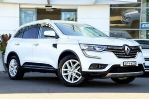 2017 Renault Koleos HZG Zen X-tronic White 1 Speed Constant Variable Wagon Sutherland Sutherland Area Preview
