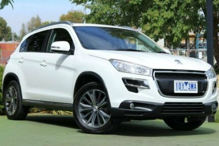 2015 Peugeot 4008 MY15 Active 2WD White 6 Speed Constant Variable Wagon