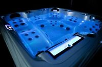 Antigua Hot Tub  Fully Loaded  Led Lights  Tons Of Jets on Sale