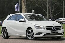 2014 Mercedes-Benz A180 W176 D-CT Cirrus White 7 Speed Sports Automatic Dual Clutch Hatchback Warwick Farm Liverpool Area Preview