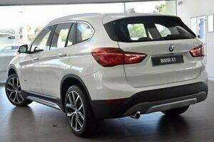 2017 BMW X1 F48 sDrive18d Steptronic White 8 Speed Sports Automatic Wagon Wangara Wanneroo Area Preview