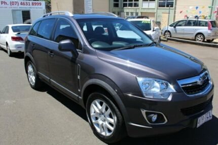 2013 Holden Captiva CG MY14 5 LT Grey 6 Speed Manual Wagon