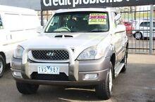 2005 Hyundai Terracan HP MY05 Silver 5 Speed Manual Wagon Heatherton Kingston Area Preview