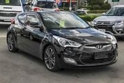 2015 Hyundai Veloster FS4 Series II Coupe D-CT Black 6 Speed Sports Automatic Dual Clutch Hatchback Aspley Brisbane North East Preview