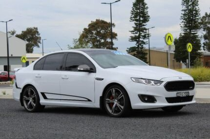 2016 Ford Falcon FG X XR8 White 6 Speed Sports Automatic Sedan Port Macquarie Port Macquarie City Preview