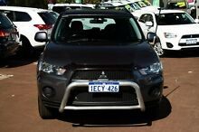 2011 Mitsubishi Outlander ZH MY11 LS Grey 6 Speed Constant Variable Wagon Cannington Canning Area Preview
