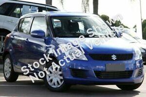 2012 Suzuki Swift FZ GL Blue 5 Speed Manual Hatchback Monkland Gympie Area Preview