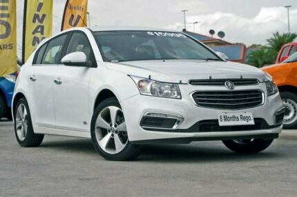 2016 Holden Cruze JH Series II MY16 Z-Series Heron White 6 Speed Sports Automatic Hatchback Hillcrest Logan Area Preview
