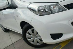 2014 Toyota Yaris NCP130R YR White 4 Speed Automatic Hatchback Pennant Hills Hornsby Area Preview