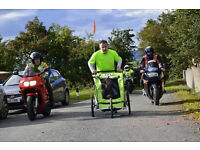 Weeride Deluxe Trailer - Bike trailer or stroller or jogger