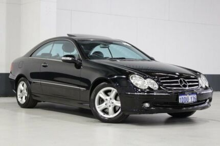 2004 Mercedes-Benz CLK240 C209 Avantgarde Black 5 Speed Auto Touchshift Coupe Bentley Canning Area Preview