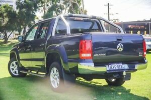 2015 Volkswagen Amarok 2H MY15 TDI420 4Motion Perm Highline Blue 8 Speed Automatic Utility Victoria Park Victoria Park Area Preview