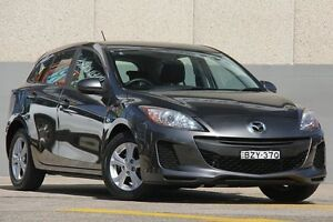 2011 Mazda 3 BL 10 Upgrade Neo Grey 5 Speed Automatic Hatchback Wolli Creek Rockdale Area Preview
