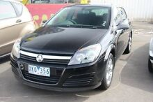 2005 Holden Astra AH MY05 CDX Black Crystal 4 Speed Automatic Hatchback Heatherton Kingston Area Preview